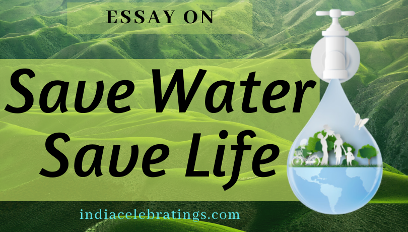Essay On Save Water Life | Importance & Benefits For Students