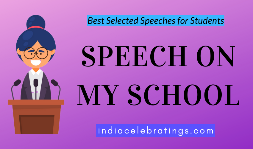 My School Speech | Best Selected Speeches For Students