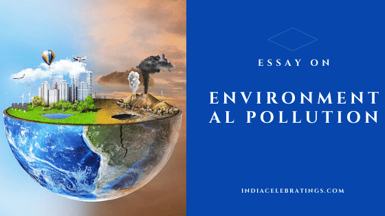 esasy on environmental pollution
