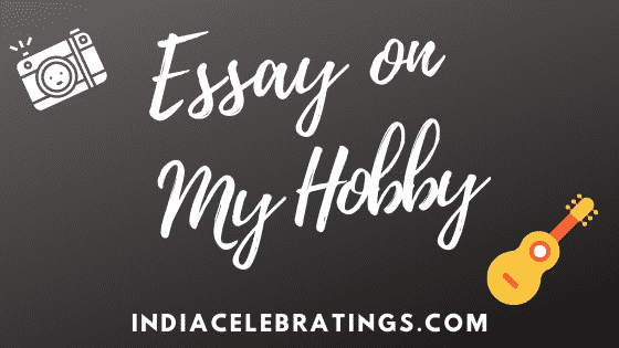 Essays on My Hobby For Students in English